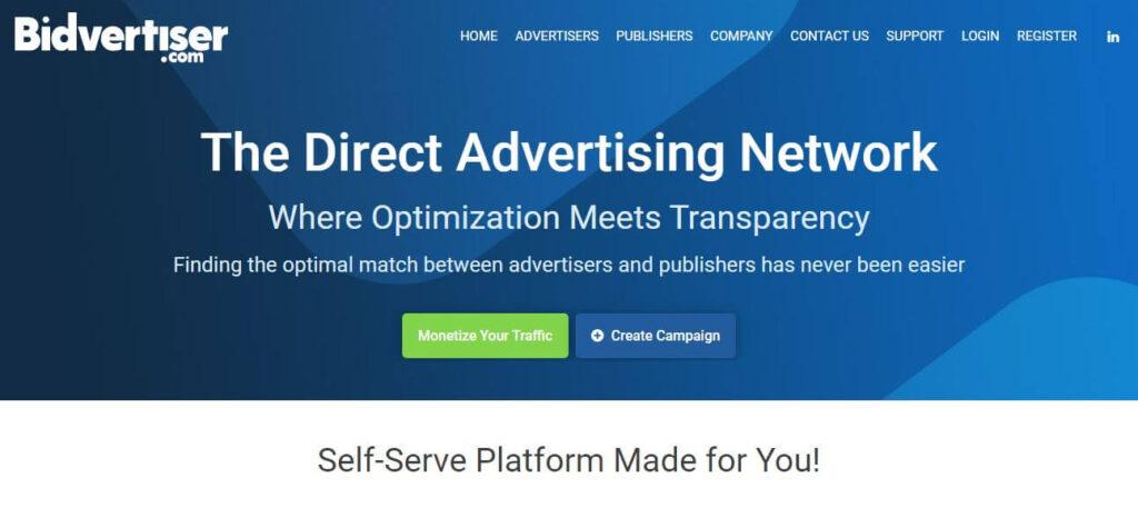 Best Google Adsense Alternatives - Bidvertiser