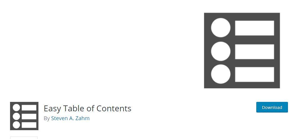 Table of Contents WordPress Plugin