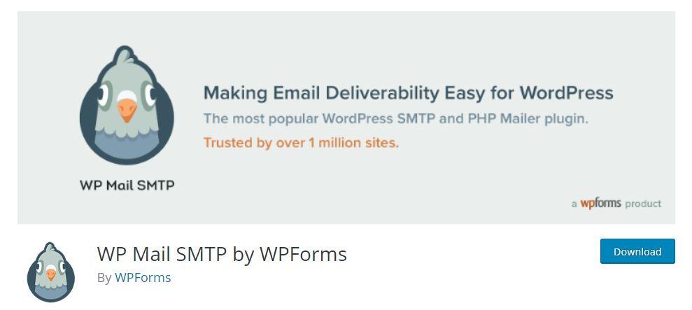WPMail SMTP WordPress Plugin